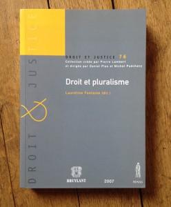 Livre - Droit et pluralisme