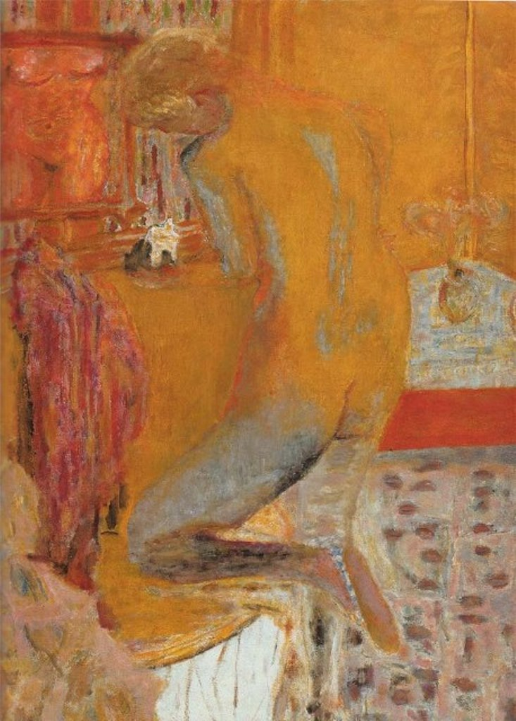Pierre Bonnard - Nu jaune, 1934